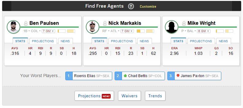 Finding Free Agents
